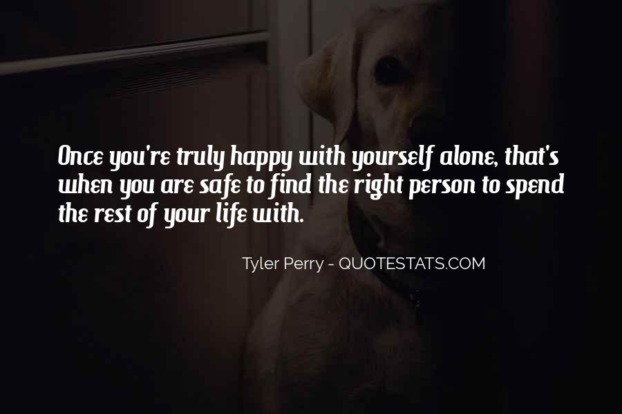 Quotes About Happy Person #169016