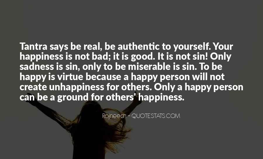Quotes About Happy Person #173712
