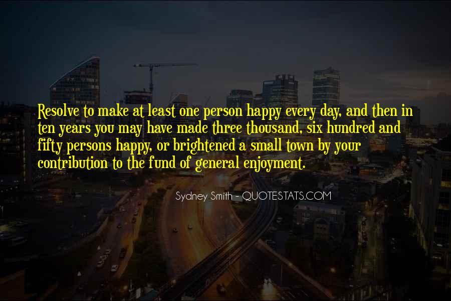 Quotes About Happy Person #231795