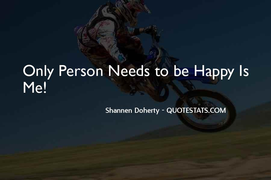 Quotes About Happy Person #245542