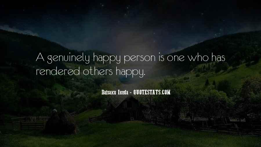Quotes About Happy Person #58038