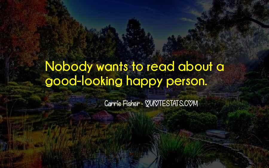 Quotes About Happy Person #79877