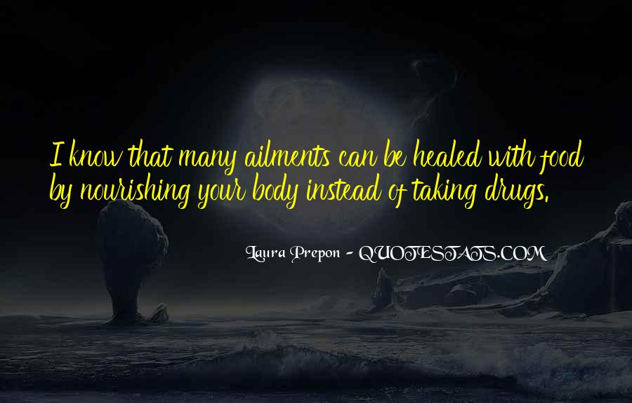 Quotes About Nourishing Your Body #112732
