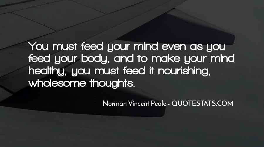 Quotes About Nourishing Your Body #897721