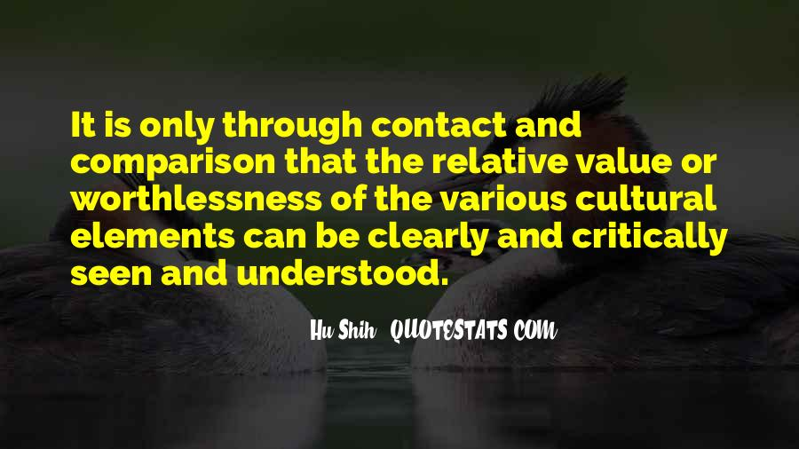 Quotes About Contact #30383