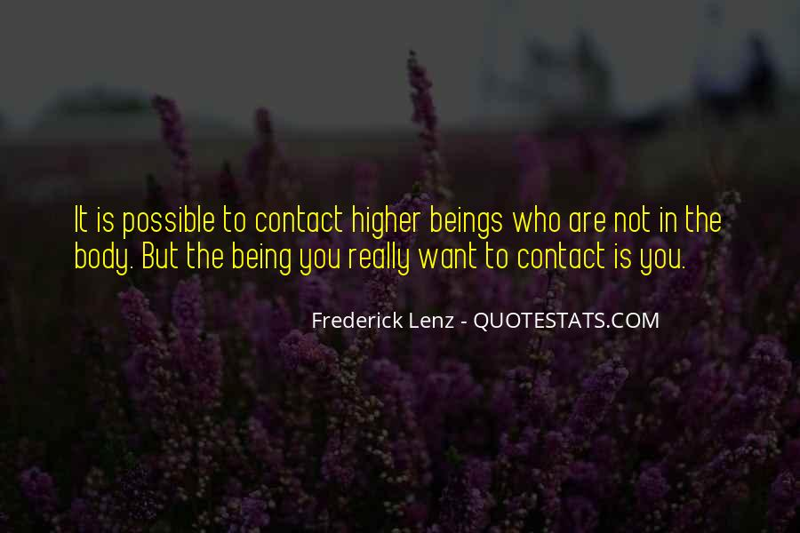 Quotes About Contact #41049
