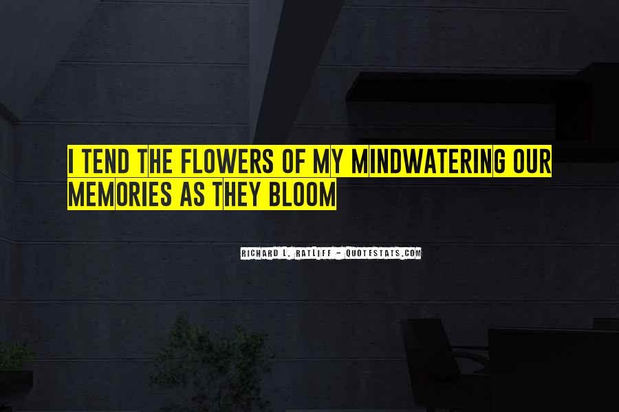Quotes About Flowers And Friendship #1269873
