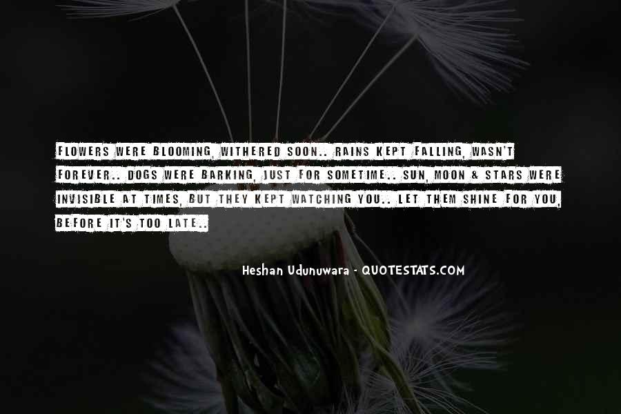 Quotes About Flowers And Friendship #1286062
