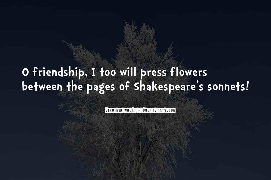 Quotes About Flowers And Friendship #335958