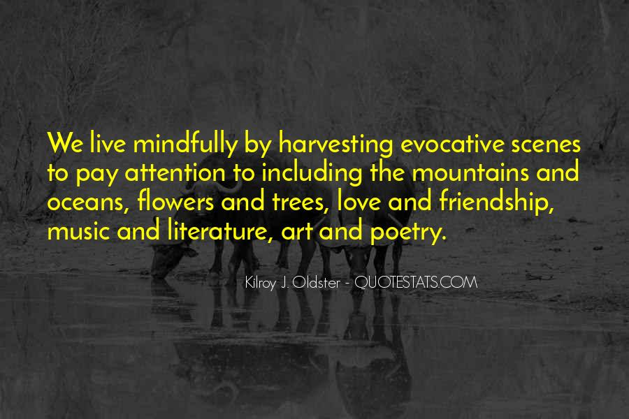 Quotes About Flowers And Friendship #360187