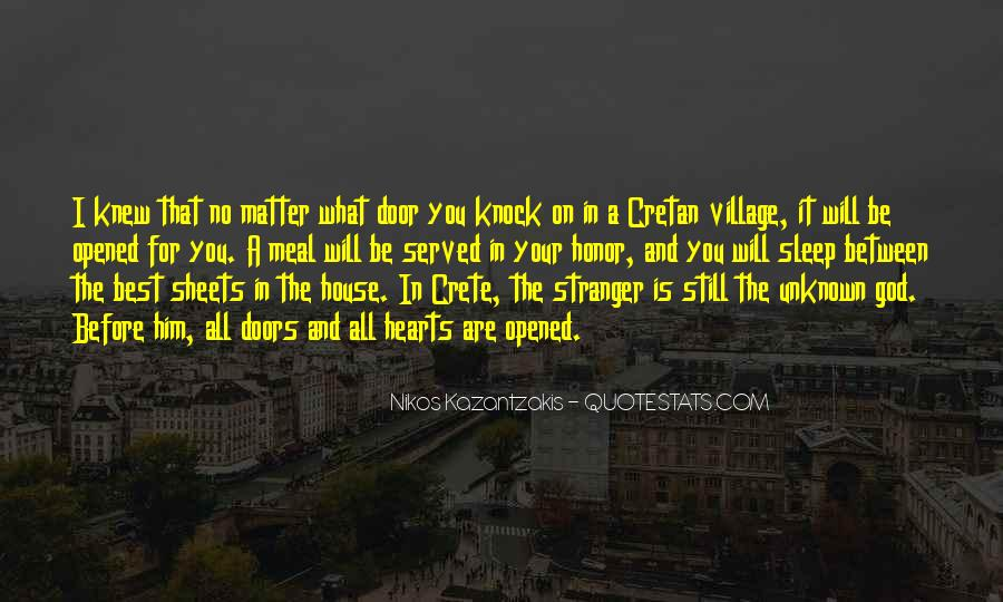Quotes About Crete #1054380