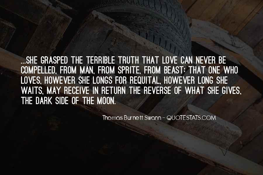 Quotes About The Man In The Moon #1135866