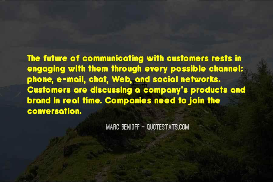 Quotes About Communicating With Customers #194330