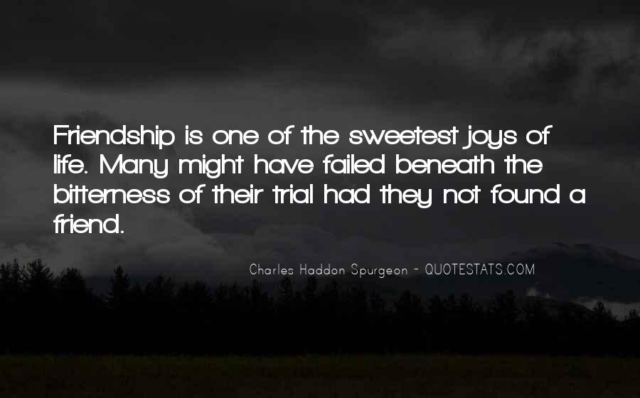 Quotes About The Joys Of Friendship #371108