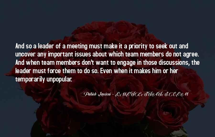 Quotes About Members Of A Team #1234476