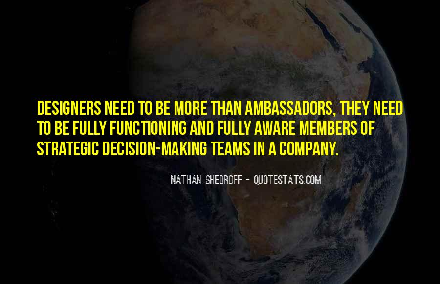 Quotes About Members Of A Team #1408271
