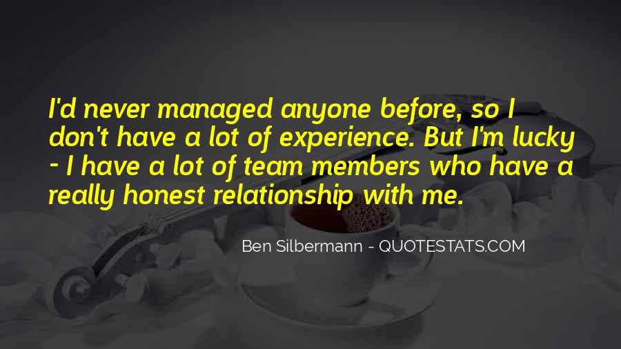 Quotes About Members Of A Team #2551
