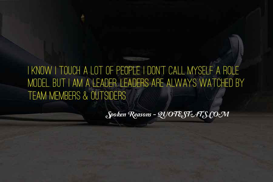 Quotes About Members Of A Team #581191
