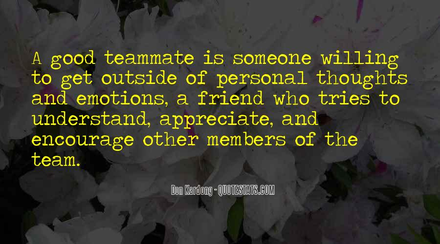 Quotes About Members Of A Team #838903
