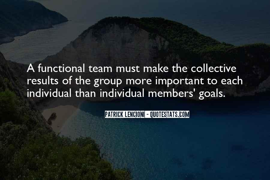 Quotes About Members Of A Team #925334