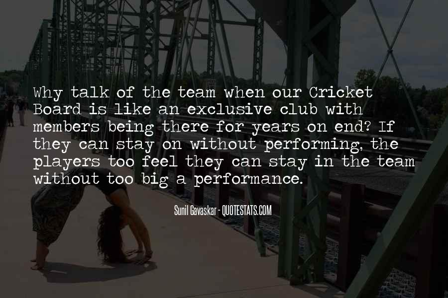 Quotes About Members Of A Team #976894