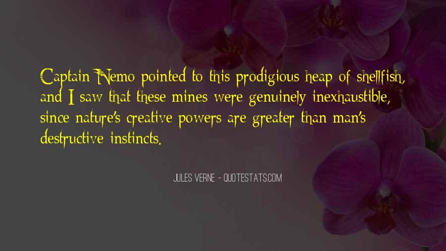 Quotes About Captain Nemo #423343