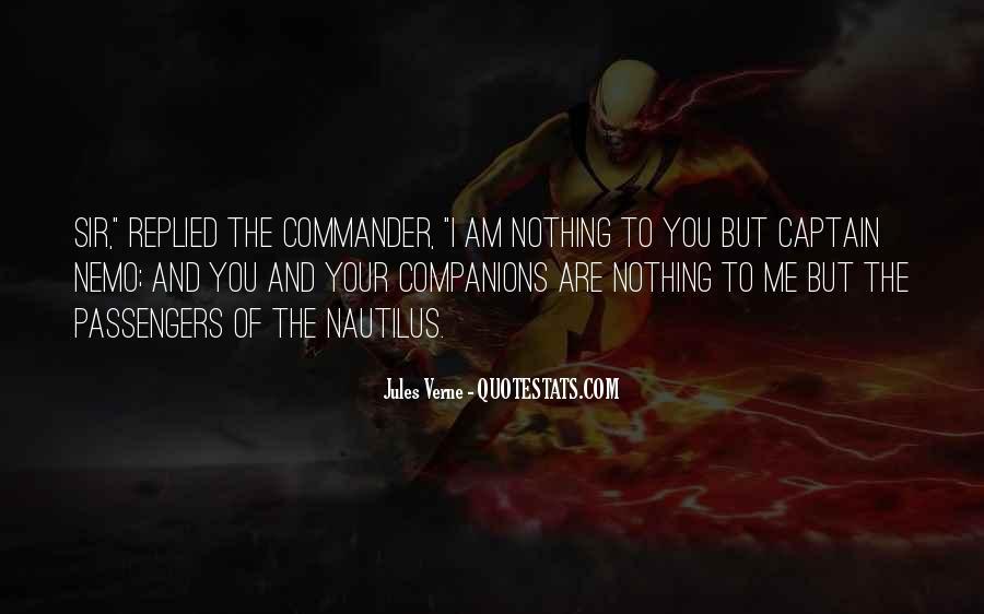Quotes About Captain Nemo #496052