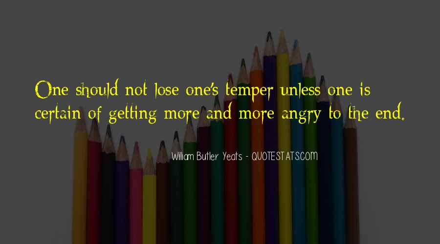 Quotes About Anger Getting The Best Of You #1113074