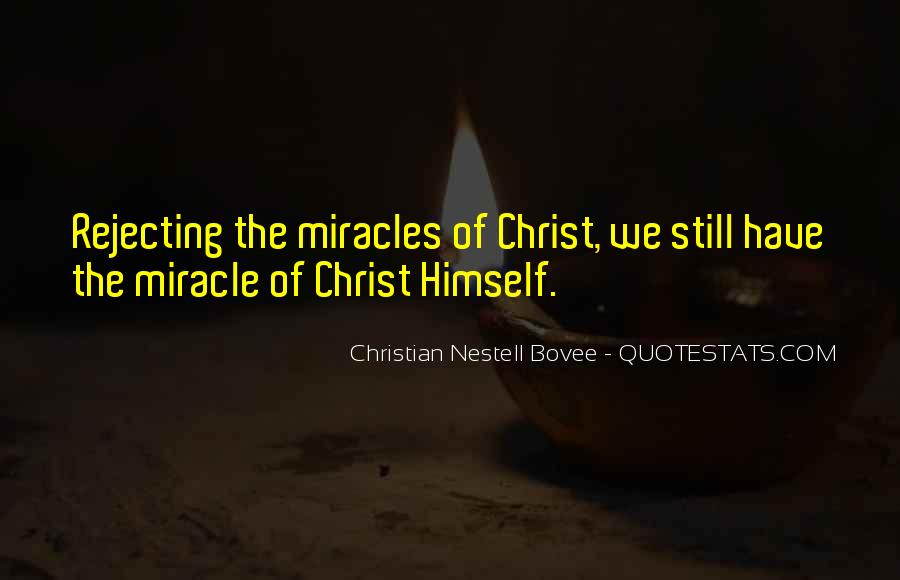 Quotes About Rejecting Christ #316766