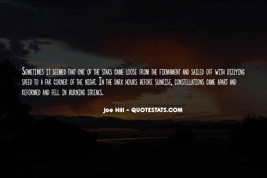 Quotes About Stars Burning Out #1070059
