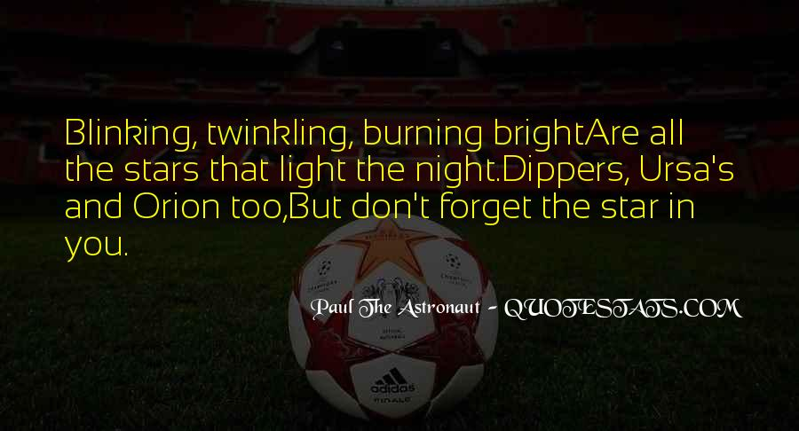 Quotes About Stars Burning Out #1360008