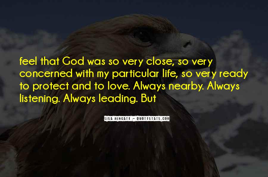 Quotes About Love God And Life #53246