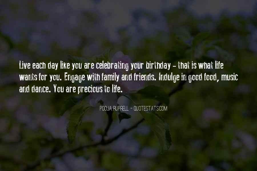 Quotes About Birthday And Family #1376831