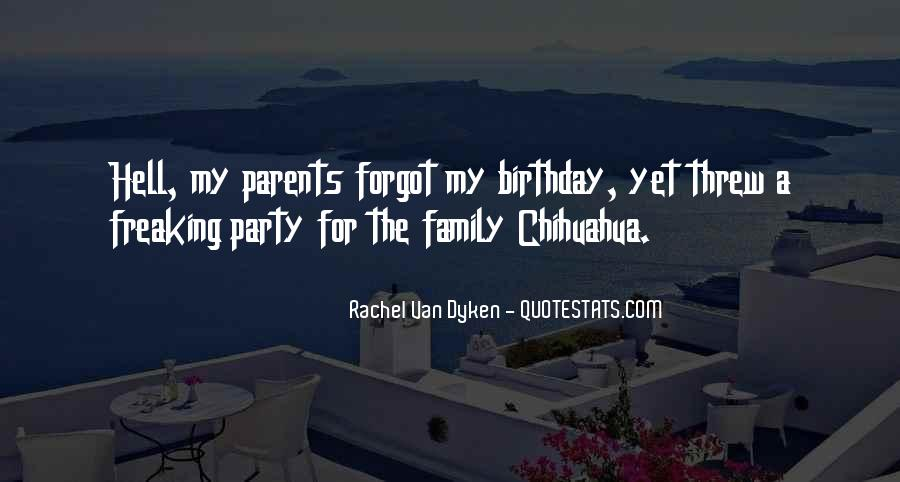 Quotes About Birthday And Family #1464295