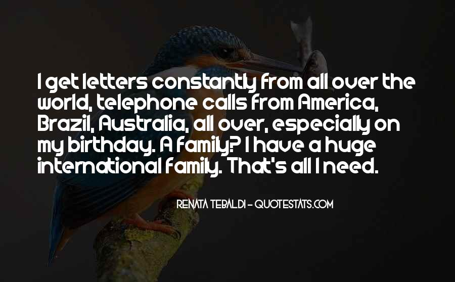 Quotes About Birthday And Family #1811251