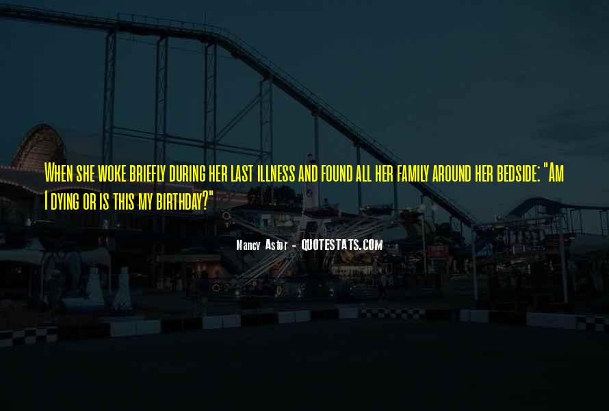 Quotes About Birthday And Family #67586