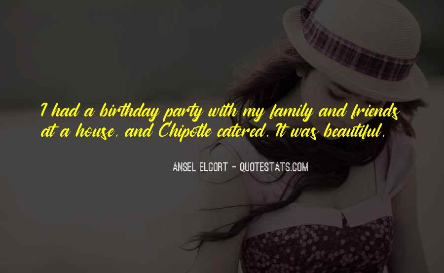 Quotes About Birthday And Family #693944