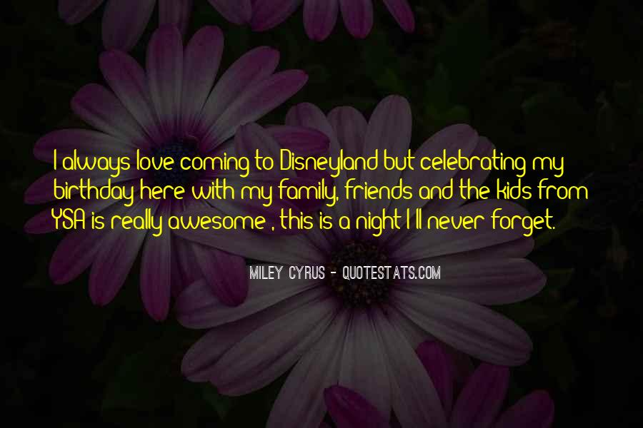 Quotes About Birthday And Family #736014