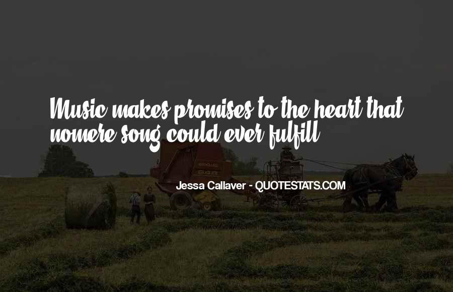Quotes About Music And Heart #106289