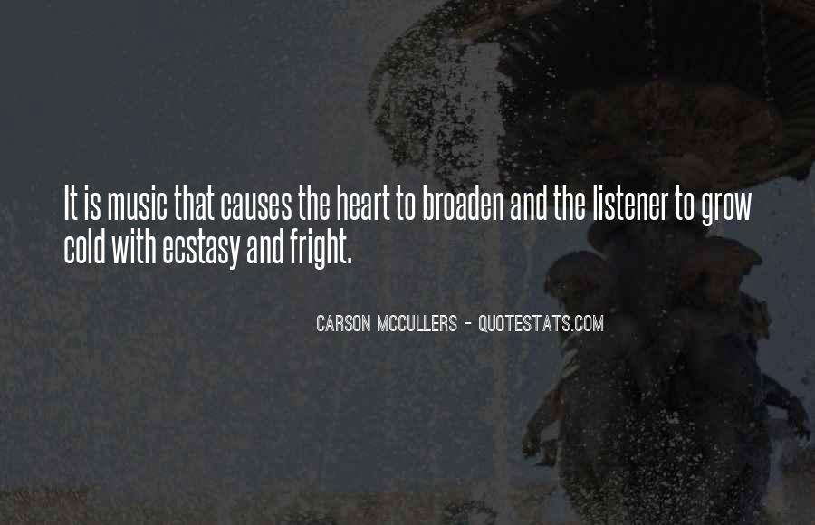 Quotes About Music And Heart #232779