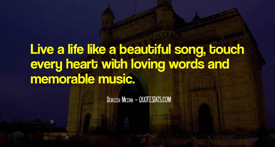 Quotes About Music And Heart #268136