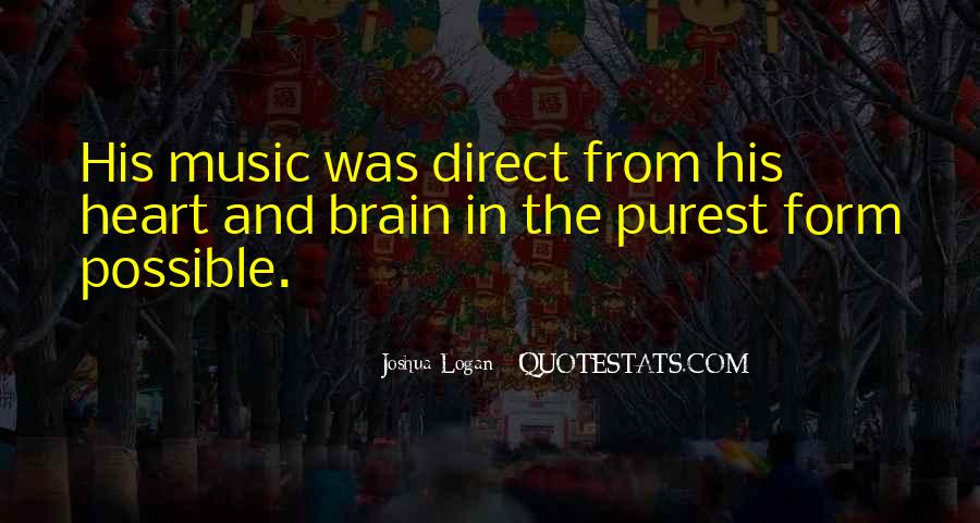 Quotes About Music And Heart #268180