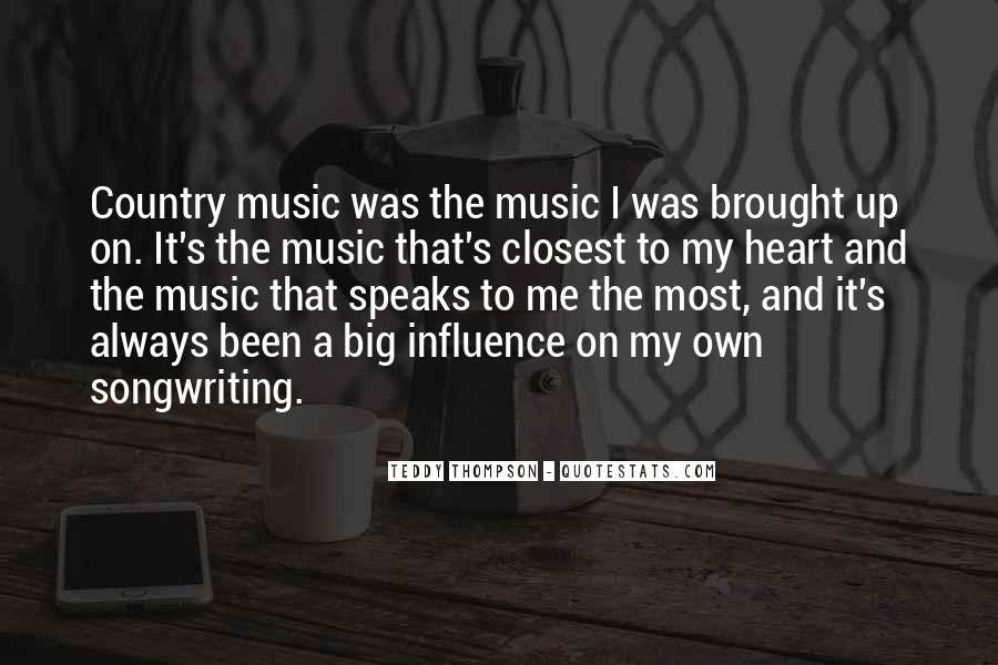 Quotes About Music And Heart #293309