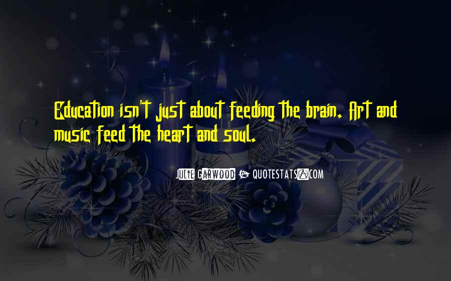 Quotes About Music And Heart #297792