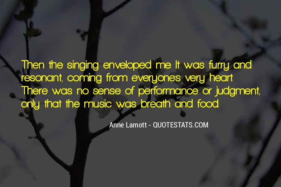 Quotes About Music And Heart #335988