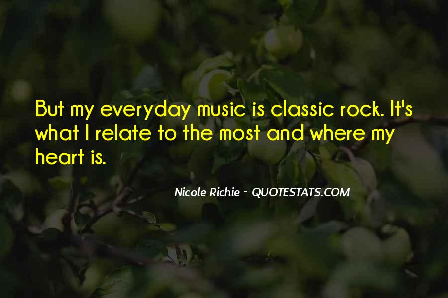 Quotes About Music And Heart #409468