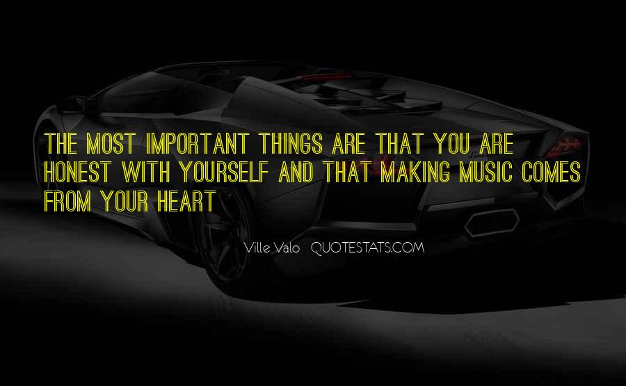 Quotes About Music And Heart #493666
