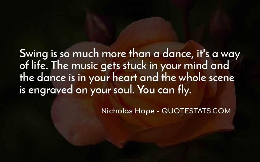 Quotes About Music And Heart #67129