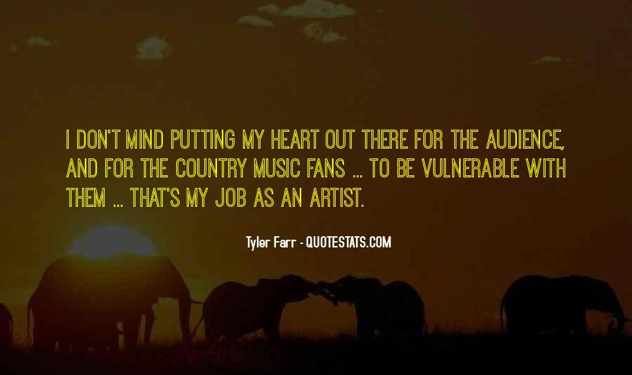 Quotes About Music And Heart #70894