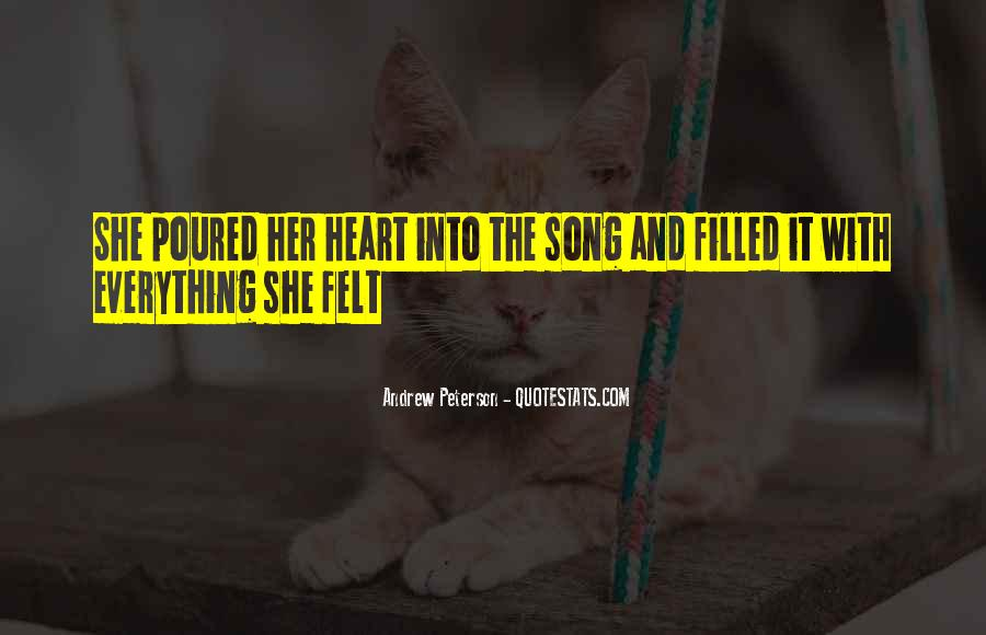 Quotes About Music And Heart #84238
